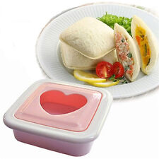 Heart Shape Sandwich Cake Toast Bread Mold Mould Cutter Maker Tool DIY Food MW