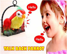 Talk Talking Back Parrot Bird Kids Toys Toy Gift / Birth Day Gift