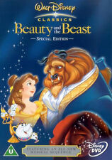 Beauty And The Beast - UK Region 2 DVD - Walt Disney