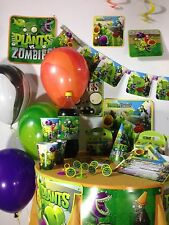 plants vs zombies happy birthday party pack supplies Free shipping