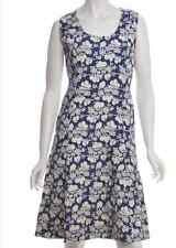 Vintage Day Dress Navy With A Flared Skirt Beyond Retro Box1469 c