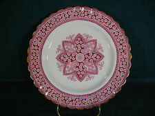 Copeland Spode Spode's Red Primrose Bone China Pattern 1/2722 Salad Plate(s)