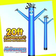 Blue Air Dancer Attachment Inflatable Advertising Sky Dancing Tube Man 20ft