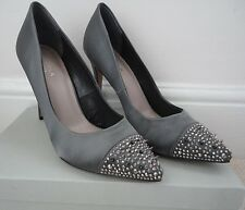 "Carvela ""Kurt Geiger"" Grey Evening Shoes Size 40 (UK 7) - BNWT"