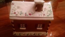 Ceramic Gingerbread House Cookie Jar - New in Box