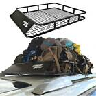 Luggage Carrier Basket Roof Rack Cargo Car Top Universal 47
