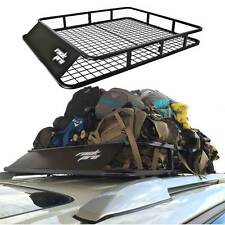 "Luggage Carrier Basket Roof Rack Cargo Car Top Universal 47""x40"" Large SUV New"