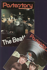 POSTERSTORY 8/78 BEATLES POSTER + DISCOGRAPHY + 16 PAGES MAG WITH PHOTOS & STORY