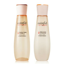 [SET][Etude House] Moistfull Collagen Facial Toner 200ml + Emulsion 180ml