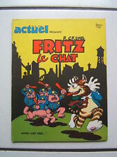 CRUMB / FRITZ LE CHAT /  EDITION ACTUEL  /  EO