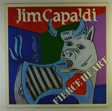 "12"" LP - Jim Capaldi - Fierce Heart - K6488c - washed & cleaned"