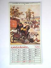 calendrier de la vie ouvrière 1985 ETAT NEUF