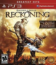 Kingdoms of Amalur: Reckoning [PlayStation 3 PS3, Greatest Hits, Action RPG] NEW