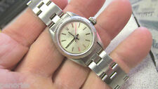 Ladies Rolex Watch Stainless Steel  Overhauled & Resurfaced    Make Offer