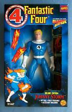 10 INCH JOHNNY STORM FANTASTIC FOUR HUMAN TORCH DELUXE FIGURE TOYBIZ 1995