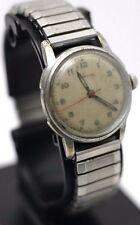 Enicar Men's Field Military Wrist Watch 17j Spiedel Band - Runs