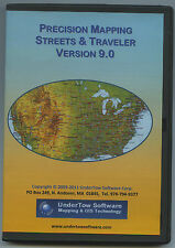 Precision Mapping Streets & Traveler - Map Travel Planning Window PC Software