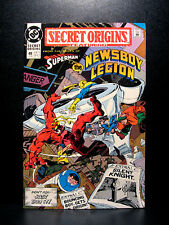 COMICS: DC: Secret Origins #49 (1980s), Newsboy Legion/Silent Knight - RARE