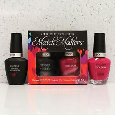 CUCCIO Veneer Match Makers - SINGAPORE SLING 6013 Gel & Nail Lacquer Duo Kit