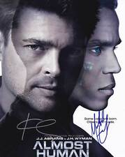 Almost Human In-Person AUTHENTIC Autographed Cast Photo COA SHA #40983