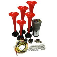 Dixie Car Musical Air Horns Dukes of Hazzard + Button + Installation Wire Kit