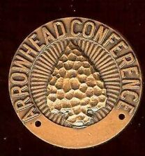 old Medal Coin ARROWHEAD Conference Athletics Bronze