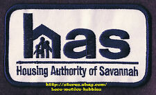 PATCH Badge  SAVANNAH HOUSING AUTHORITY  Georgia  HAS Low Income Homes  4-1/2""