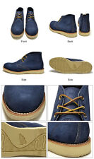 Red Wing Shoes 3146 Work/Classic Chukka Blueberry Muleskinner Blue Suede Sz 7.5D