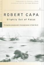 Slightly Out of Focus (Modern Library War), Capa, Robert, Good Book