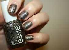NEW! Essie nail polish lacquer in IGNITE THE NIGHT ~ Sparkling hematite matte