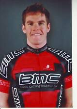 CYCLISME repro PHOTO cycliste BRENT BOOKWALTER équipe BMC RACING TEAM 2010