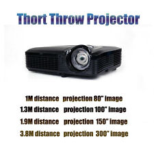 New 6500 lumen Home Theater Bar Church ultra short throw projector office school