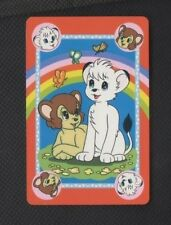 Playing Swap Cards 1 Single Japanese Tezuka Kimba The White Lion 80's N151