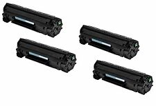 4-Pk/Pack 83A CF283A Toner Cartridge for HP M201dw M201n MFP M125a M125nw M127fw