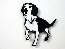 Beagle Dog Silhouette - Wall Clock