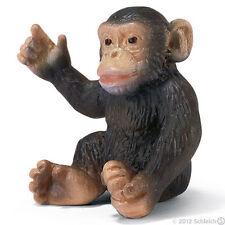 *NEW* SCHLEICH 14192 Chimpanzee Chimp Cub Baby - RETIRED