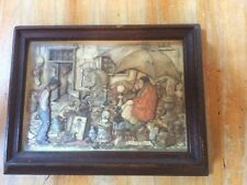 Vintage Anton Pieck 3D shadow box Collectible or Decorative art 1966 D.A.C. NY
