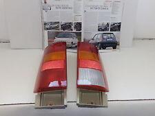 RENAULT SUPER 5 GT TURBO DEL 87 - FANALI POSTERIORI DX E SX ORIGINALI SCINTEX