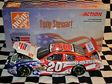 #20 TONY STEWART HOME DEPOT INDEPENDENCE DAY 1:24 DIE CAST NASCAR 2003 NEW