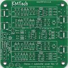 NEW ! ! 2.1 24dB/oct stereo active crossover single sub output Buttkicker PCB.