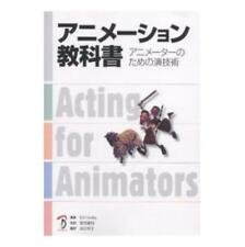 How to Make Animation Book / Animation textbook Acting for Animators