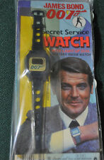 JAMES BOND 007 1981 ZEON WATCH SEALED! VERY RARE!