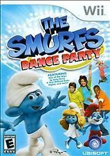 Wii SMURFS DANCE PARTY BRAND NEW VIDEO GAME KATY PERRY