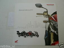 FN133 BROCHURE HONDA SPECIAL EDITIONS 2011 DUTCH 6 PAGES VFR1200F,SW-T400,T600,S