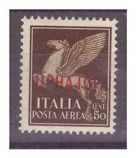 MONTENEGRO  1941 - IMPERIALE SOPRASTAMPATI  POSTA AEREA  Centesimi 50  **