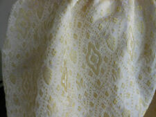 "Gold Metallic Chinese Silk Brocade Jacquard 45"" By the Yard"