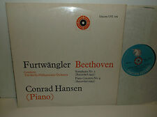 UNI.106 Beethoven Sym No5 & Piano Concerto No4 Conrad Hansen BPO Furtwangler