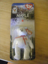 Vintage 1999 Ty Beanie Baby - McDonald's Promo  -Maple the Bear - New in Package