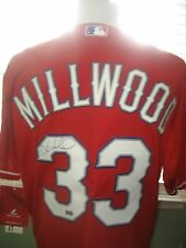 MEN'S AUTHENTIC KEVIN MILLWOOD TEXAS RANGERS SIGNED MLB JERSEY sz 44 NEW W/ TAGS