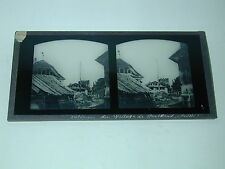 STANSTAAD SUISSE STEREO VERRE 173x84 mm photo photographie 1870 style FERRIER
